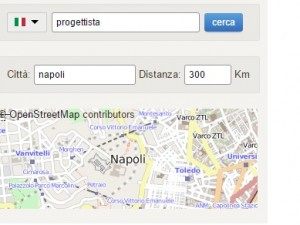 ricerca personale geolocalizzata
