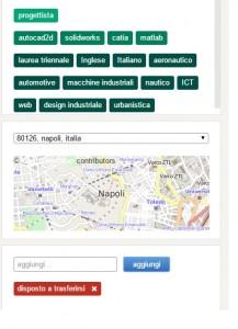 selezione personale geolocalizzata